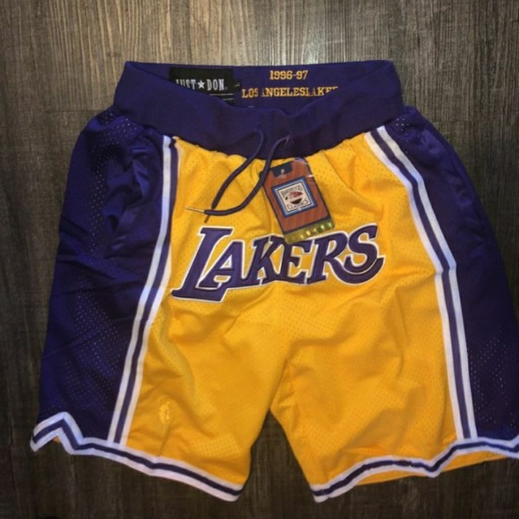 1a4fc66948a Lakers Just Don Lebron Shorts. M 5bd92222c61777936c16cf99